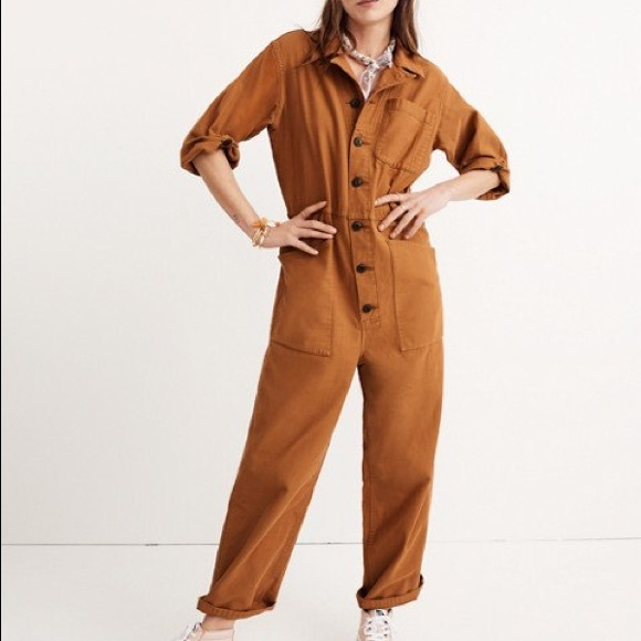 89b52ebe4c9 Madewell Pants - Madewell x As Ever Coveralls in acorn